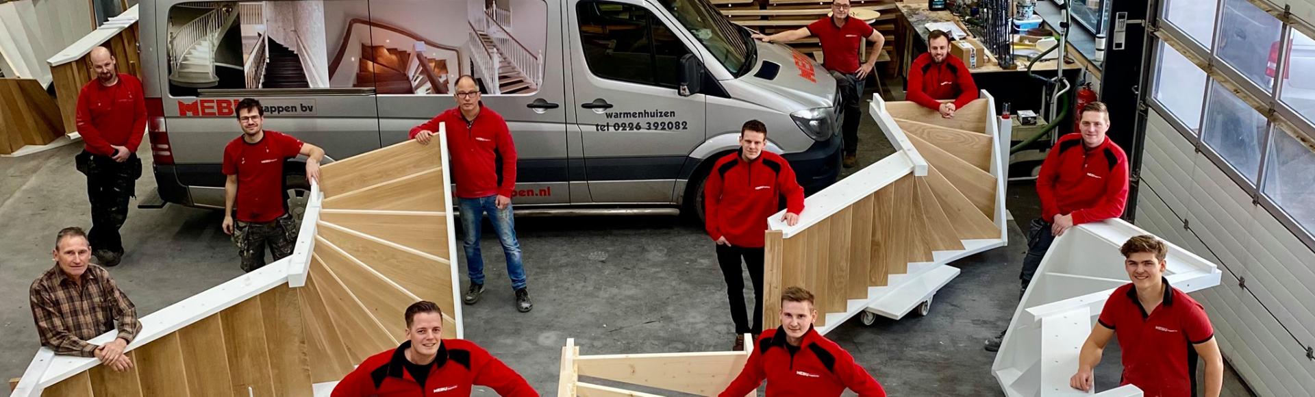 Maatwerk trappen specialist Noord-Holland